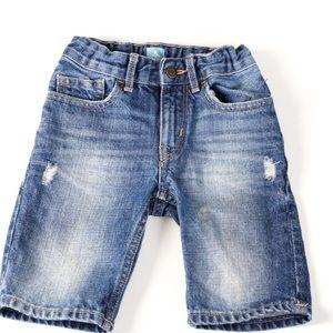 Toddler boy size 4t Baby Gap skinny denim shorts.